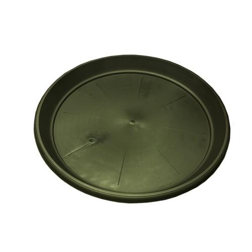 Универсальный круглый поддон - блюдце. Изготовлен из качественного PP пластика